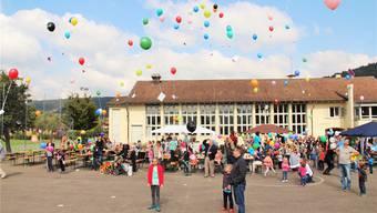Herbstfest Elternverein Unterengstringen 2015 Schulhaus Büel