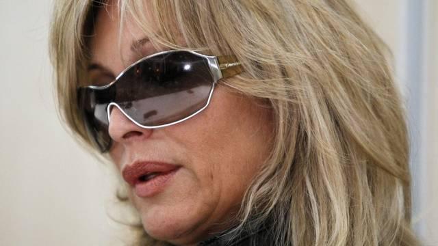 Sie und Steve Lee waren ein Paar: Brigitte Voss-Balzarini (Archiv)