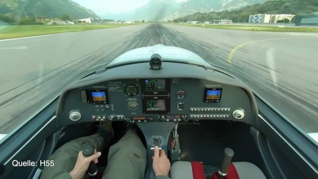 Luftfahrtpionier Borschberg stellt neues Elektroflugzeug vor