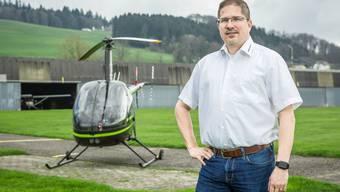 Helikopterpilot Mario Lang