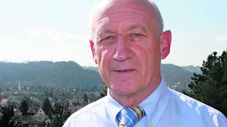Alfons Egloff geht in Pension, nachdem er 20 Jahre lang das Alters- und Pflegeheim St. Bernhard in Wettingen geleitet hat. Foto: bär