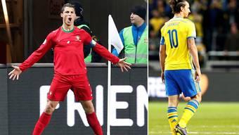 Die Barragen-Spiele zur WM: Ronaldos Portugal fährt an die WM, Ibrahimovic bleibt mit Schweden zu Hause