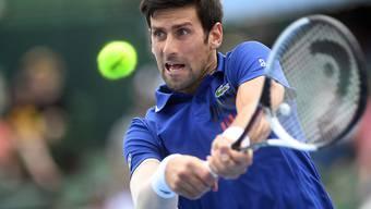 Novak Djokovic ist auf den Tennis-Court zurückgekehrt