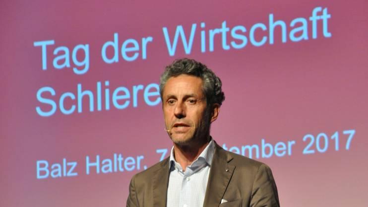 «Wir wollen nicht als Agglomeration wahrgenommen werden», sagte Balz Halter.