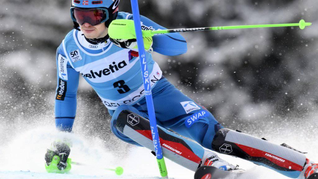 Henrik Kristoffersen - die Nummer 1 im Slalom