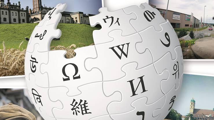 Auf Wikipedia sind sämtliche Fricktaler Gemeinden vertreten.