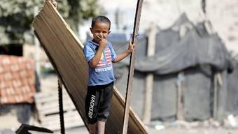 Das Beduinendorf Chan al-Ahmar befindet sich im Westjordanland zwischen Jericho und Jerusalem in der Nähe einer israelischen Siedlung. (Archivbild)