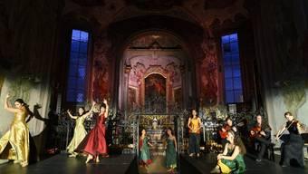 Premiere der Tanz-Vorstellung «feu sacré» zum Gedenken an die Nonne und Schriftstellerin Silja Walter