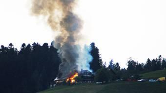 Bauernhaus in Langnau brannte nieder