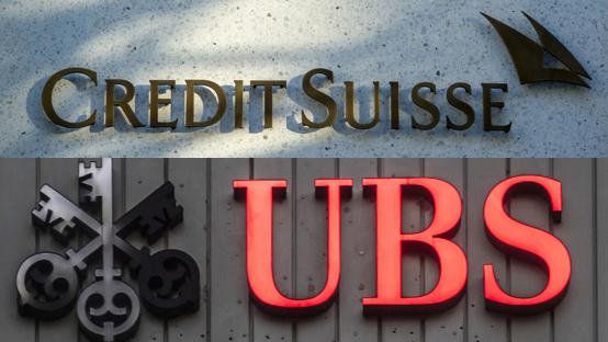 Kommt es zur Grossfusion der Grossbanken? – Ein Medienbericht vom Montag heizt Spekulationen an. Die UBS und Credit Suisse schweigen.