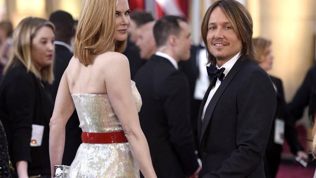 Lassen ihre Kinder mitentscheiden, bevor sie neue Engagements annehmen: Nicole Kidman und Keith Urban. (Archivbild)