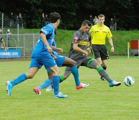 Granit Xhaka zeigte im Testspiel gegen Velbert eine ansprechende Leistung.