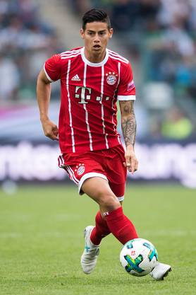 James Rodriguez gilt als technisch versierter Spieler.