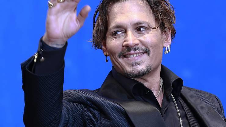 Beim Filmdreh ausgerastet? US-Filmstar Johnny Depp wird von einem Aufnahmeleiter wegen Gewalt verklagt. (Archivbild)