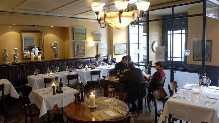 Das Restaurant Cantinetta Bindella ist eines der beliebten Solothurner Lokale, die nicht im «Gault Millau»-Gastroführer bewertet wurden. om