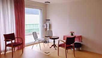 Besucherzonen in Altersheimen im Limmattal