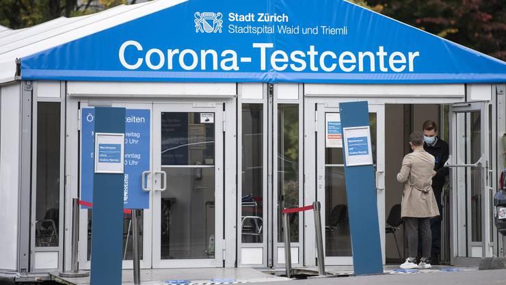 Ein Testzentrum gibt es bereits am Stadtspital Triemli.