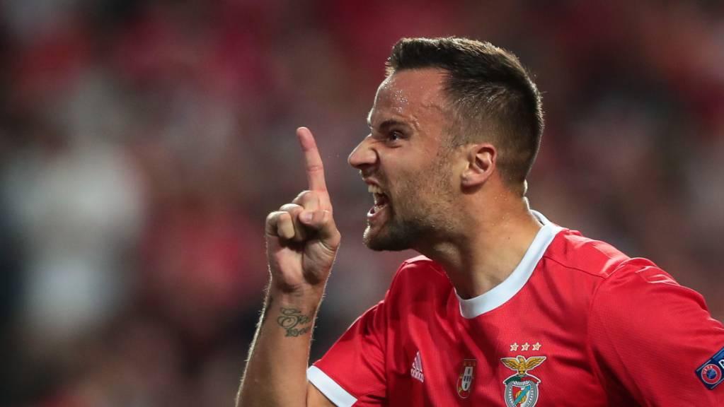 Schweizer Fussballer des Jahres: Haris Seferovic steuerte 23 Tore zum Meistertitel mit Benfica Lissabon bei