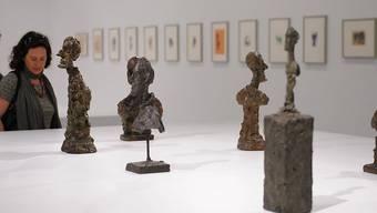 Werke des berühmten Bündner Künstlers Giacometti an einer Ausstellung in Marokko. (Symbolbild)
