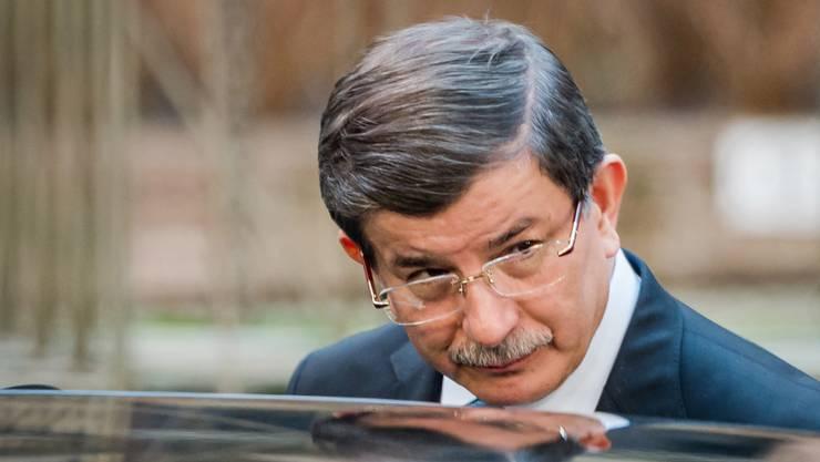 Der türkische Premier Ahmet Davutoglu will mehr Geld.