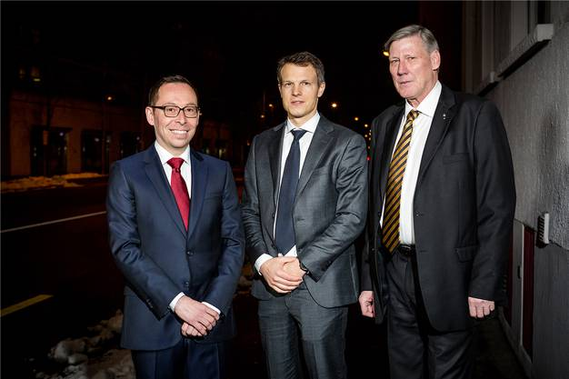 Ramon Steffen, Simon Hofmann und Adrian Leimgrübler (von links) stellten sich dem ersten Direktvergleich. Sandra Ardizzone