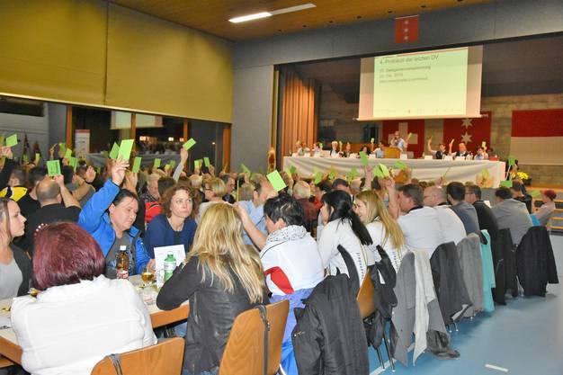 Delegiertenversammlung des RTVSU in Obergerlafingen