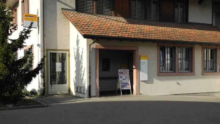 In Gipf-Oberfrick findet am 14. November eine Infoveranstaltung über die Zukunft der Poststelle statt.