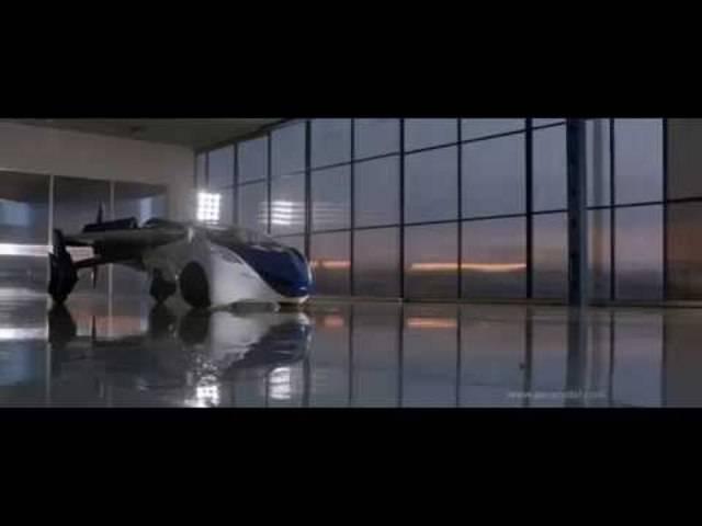 Das «Aero Mobil» in Fahrt und Flug.