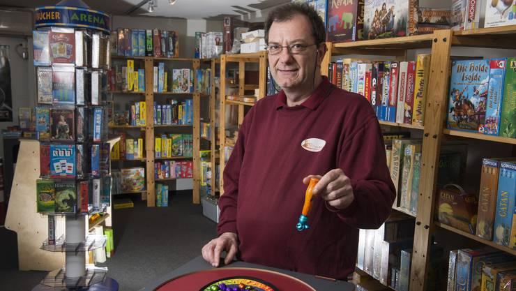 Markus Hadorn, Inhaber des Spielfachgeschäfts Miracoolix: «Können uns die Innenstadt nicht mehr leisten.»