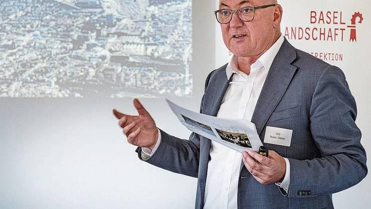 Mit Pauken und Trompeten kündigte Isaac Reber Anfang September das Pilotprojekt Velohochbahn an.
