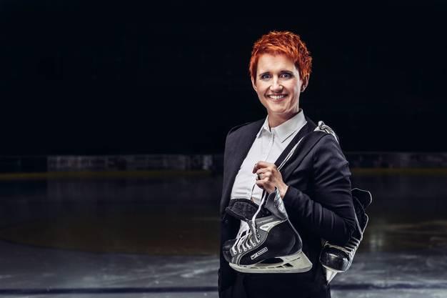 Steffi Buchli, Programmleiterin und Sportreporterin.