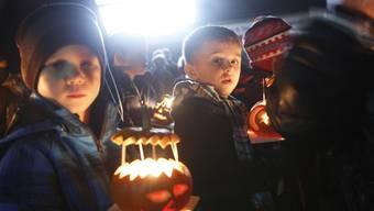 Tausende an der Grenchner Kürbisnacht 2013