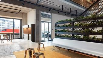 Neu und modern: Die Coworking-Spaces in der ehemaligen NZZ-Druckerei in Schlieren.