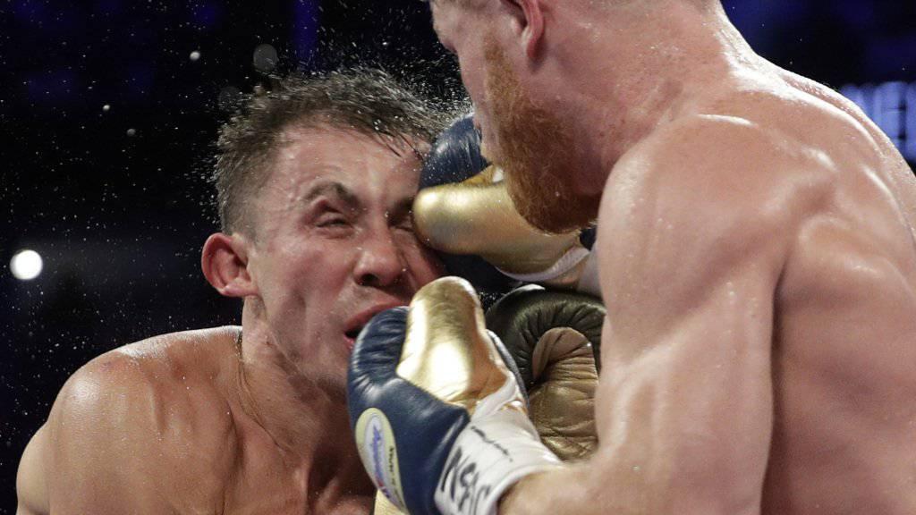 Der Rückkampf zwischen Saul Alaverz (rechts) und Gennadi Golowkin findet nun doch statt