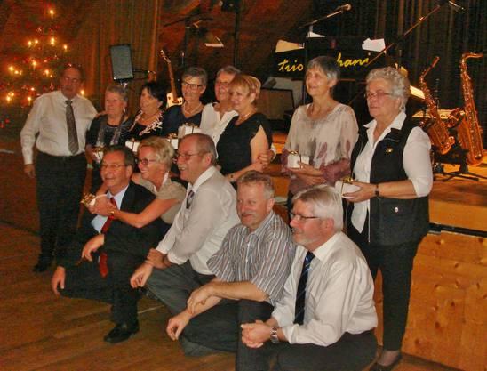 Jahresschlussfeier, Dank an unsere Helferinnen anlässlich Chilbi-Metzgete