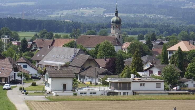 Dorfansicht von Deitingen