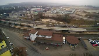 Die neue Stadtteilverbindung für Fussgänger und Velofahrer nach Olten SüdWest ist als Unterführung durch den Bahnhof Hammer und als Überführung über die Umfahrungsstrasse geplant.