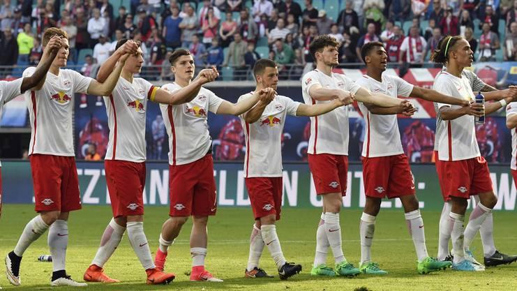 RB Leipzig ist der erste Verfolger der Bayern.