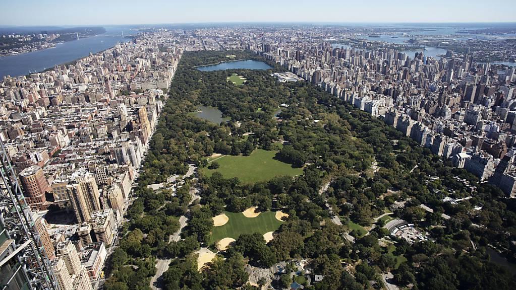 Der New Yorker Central Park soll laut Angaben der Parkverwaltung vom Mittwoch für über 100 Millionen Dollar umgebaut werden.