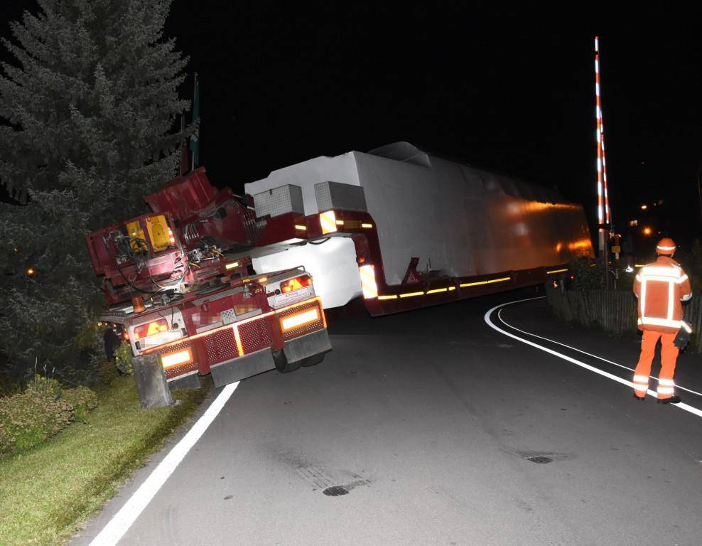 Unfall Staad (© Kapo SG)