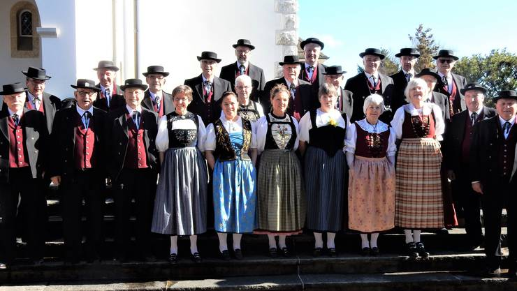 Gruppenbild des Jodlerklubs Olten