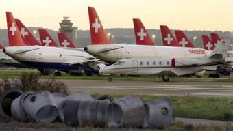Rund 260 Swissair-Maschinen und mit ihnen rund 19'000 Passagiere blieben am 2. Oktober 2001 am Boden.