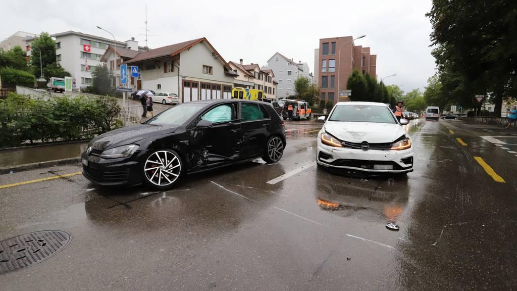 Zwei Verletzte nach Unfall an der Fürstenlandstrasse