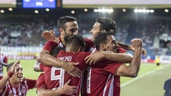 Griechische Festspiele in Luzern: Olympiakos fertigt den FCL auch vor heimischem Publikum ab