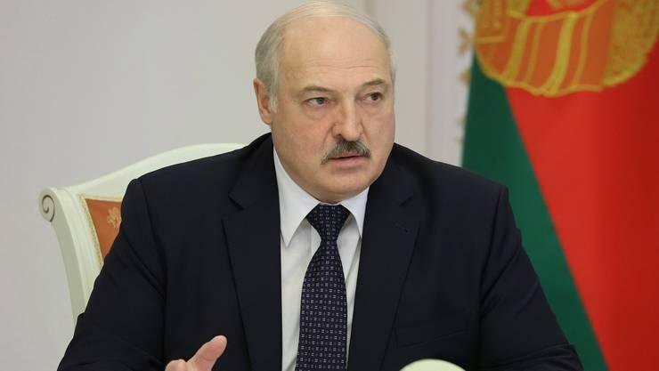 Ist nun von EU-Sanktionen direkt betroffen: Weissrusslands Präsident Alexander Lukaschenko.