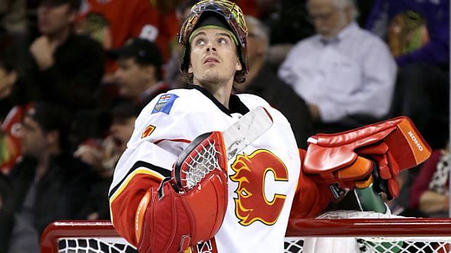 Matchwinner für Calgary: Jonas Hiller