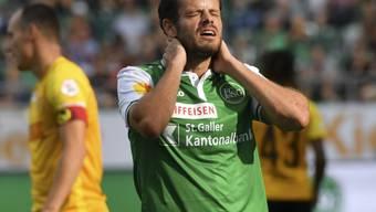 Tranquillo Barnetta wird St. Gallen rund vier Wochen nicht zur Verfügung stehen