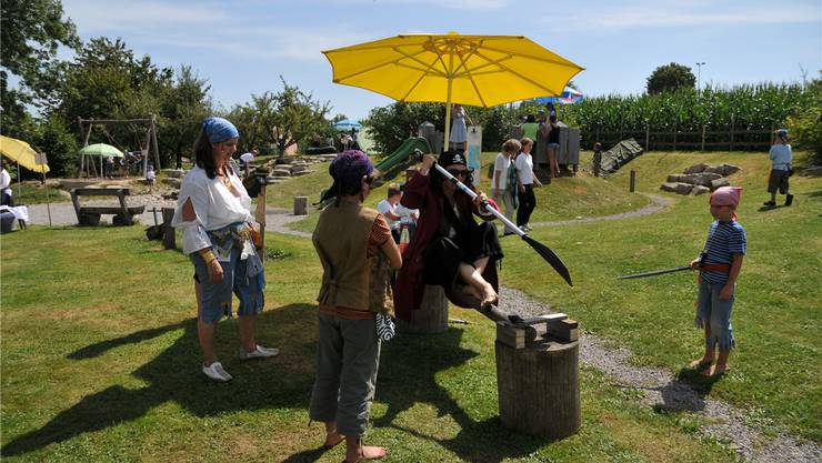 Der Spielplatz «Driff di» in Messen hat sich zu einem Begegnungsplatz entwickelt. Mit am Anfang vor elf Jahren stand die Gemeindepräsidentin Marianne Meister. mes