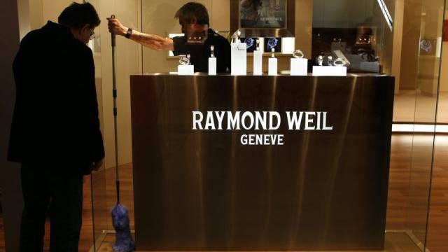 Uhren der Marke Raymond Weil (Archiv)