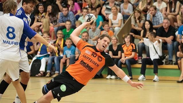 Verstärkt die Offensive, sowie Defensive der Mehlemer: Robin Brugger. Quelle: handballfotos.ch